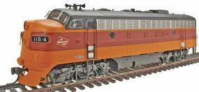 Intermountain EMD F7A - Standard DC - Milwaukee Road HO Scale Model Train Diesel Locomotive #49075