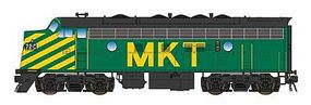 Intermountain EMD F7A with DCC - Missouri-Kansas-Texas HO Scale Model Train Diesel Locomotive #49092