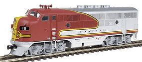 Intermountain EMD F3A - Standard DC - Santa Fe HO Scale Model Train Diesel Locomotive #49105