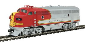 Intermountain EMD F3A w/Snd ATSF War Bn - HO-Scale