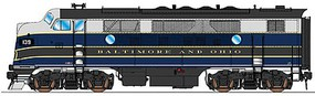 Intermountain EMD F3A pwd RTR B&O - HO-Scale