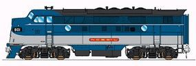 Intermountain EMD F3A DC Nashville, Chattanooga & St. Louis HO Scale Model Train Diesel Locomotive #49131