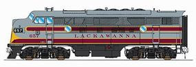 Intermountain EMD F3A DC Delaware, Lackawanna & Western HO Scale Model Train Diesel Locomotive #49136