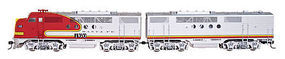 Intermountain EMD FTA-B Set w/DCC - Santa Fe (Warbonnet) HO Scale Model Train Diesel Locomotive #49203