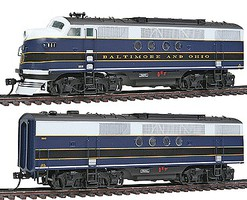 Intermountain FT A/B Loco Set B&0 w/snd HO-Scale
