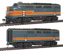 Intermountain FT A/B Set w/Snd MILW HO-Scale