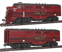 Intermountain FT A/B Set w/Snd LV - HO-Scale