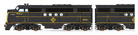 Intermountain FT A/B Set DCC Erie Lakawanna HO Scale Model Train Diesel Locomotive #49234
