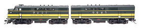 Intermountain EMD FTA-B Set with DCC - EMD HO Scale Model Train Diesel Locomotive #49298