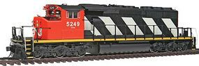Intermountain EMD/GMDD SD40-2W Standard DC Canadian National HO Scale Model Train Diesel Locomotive #49301