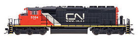 Intermountain SD40-2W No Sound Canadian National CA HO Scale Model Train Diesel Locomotive #49303
