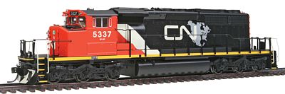 Intermountain Railway Company EMD/GMDD SD40-2W DC Canadian National -- HO Scale Model Train Diesel Locomotive -- #49307