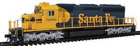 Intermountain SD40-2 Loco without Sound ATSF HO Scale Model Train Diesel Locomotive #49320