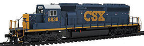 Intermountain SD40-2 Loco without Sound CSX HO Scale Model Train Diesel Locomotive #49322