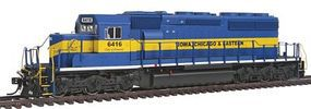 Intermountain EMD SD40-2 Standard DC Iowa, Chicago & Eastern HO Scale Model Train Diesel Locomotive #49324