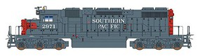 Intermountain EMD SD38-2 w/DCC Southern Pacific (gray, red)