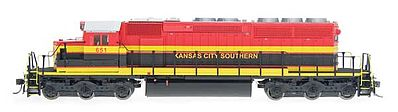 Intermountain Railway Company EMD SD40-2 with DCC - Kansas City Southern -- HO Scale Model Train Diesel Locomotive -- #49333