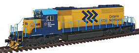 Intermountain EMD SD40-2 DCC Ontario Northland (yellow, blue) HO Scale Model Train Diesel Locomotive #49343