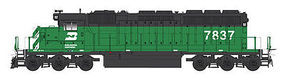Intermountain SD40-2 DCC Burlington Northern HO Scale Model Train Diesel Locomotive #49355
