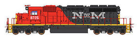 Intermountain SD40-2 DCC NdeM HO Scale Model Train Diesel Locomotive #49359