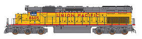Intermountain SD40T-2 DCC Union Pacific HO Scale Model Train Diesel Locomotive #49406
