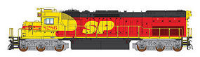 Intermountain SD40T-2 DCC Southern Pacific Kodachrome HO Scale Model Train Diesel Locomotive #49413