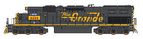 Intermountain SD40T-2 DCC UP/DRGW HO Scale Model Train Diesel Locomotive #49424