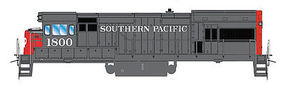 Intermountain U18B DC Southern Pacific HO Scale Model Train Diesel Locomotive #49482