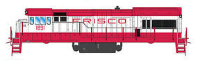 Intermountain U18B DC Frisco HO Scale Model Train Diesel Locomotive #49483