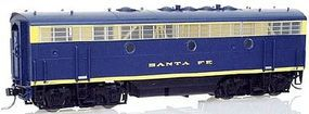Intermountain EMD F7B Smart Dummy ATSF HO Scale Model Train Diesel Locomotive #495172