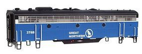 Intermountain EMD F7B DCC Great Northern Big Sky HO Scale Model Train Diesel Locomotive #49525