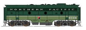 Intermountain EMD F7B - Standard DC - Northern Pacific HO Scale Model Train Diesel Locomotive #49533