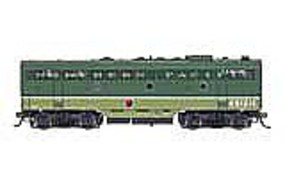 Intermountain EMD F7B with Sound & DCC - Northern Pacific HO Scale Model Train Diesel Locomotive #49533s