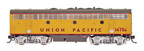 Intermountain F7B Unit phase 1 Union Pacific HO Scale Model Train Diesel Locomotive #49539
