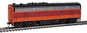 Intermountain F7B Pwr w/Snd MILW - HO-Scale
