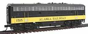 Intermountain EMD F7B Phase I DC Alaska Railroad HO Scale Model Train Diesel Locomotive #49551