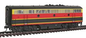 Intermountain EMD F7B - Standard DC - Kansas City Southern HO Scale Model Train Diesel Locomotive #49553