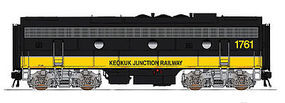 Intermountain F9B DCC Keokuk Junction HO Scale Model Train Diesel Locomotive #49554