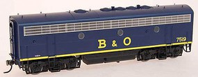 Intermountain F7B Ph1 Pwr wo/Snd B&O - HO-Scale