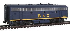 Intermountain EMD F7B - Standard DC - Baltimore & Ohio HO Scale Model Train Diesel Locomotive #49571