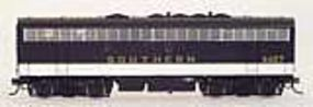 Intermountain EMD F7B w/Sound & DCC - Southern (black) HO Scale Model Train Diesel Locomotive #49578s