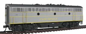 Intermountain EMD F7B - Standard DC - Clinchfield HO Scale Model Train Diesel Locomotive #49580