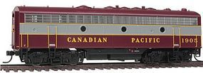 Intermountain EMD F9B - Standard DC - Canadian Pacific HO Scale Model Train Diesel Locomotive #49590