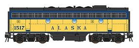 Intermountain EMD F7B with DCC - Alaska Railroad #1517 HO Scale Model Train Diesel Locomotive #49595