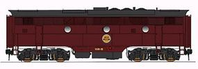 Intermountain EMD F3B - Standard DC - Chicago Great Western HO Scale Model Train Diesel Locomotive #49634