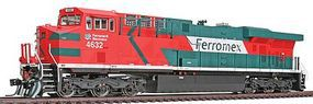 Intermountain GE ES44AC DC Ferromex (orange, green, white) HO Scale Model Train Diesel Locomotive #49704