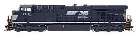 Intermountain GE ES44DC w/DCC - Norfolk Southern HO Scale Model Train Diesel Locomotive #49724