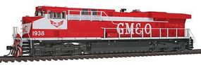 Intermountain GE ES44AC - Standard DC - Gulf, Mobile & Ohio HO Scale Model Train Diesel Locomotive #49768