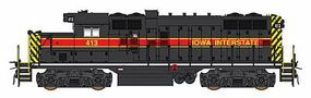Intermountain Paducah GP10 - Standard DC - Iowa Interstate HO Scale Model Train Diesel Locomotive #49808