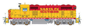 Intermountain GP16 Loco Santa Fe Southern HO Scale Model Train Diesel Locomotive #49841